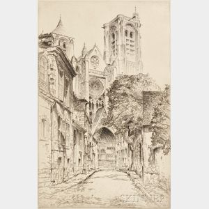 John Taylor Arms (American, 1887-1953)      Bourges