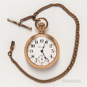 Hamilton Gold-plated Pocket Watch