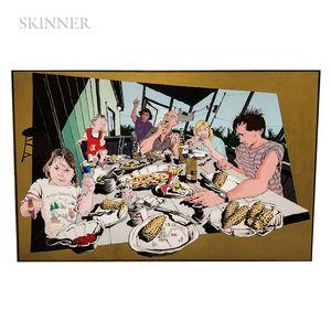 Peter Scott (American)      Family Dinner
