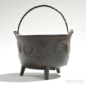 Small Cast Iron Pot