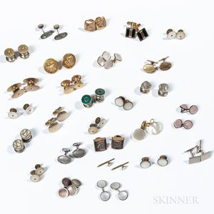Twenty-seven Pairs of Cuff Links