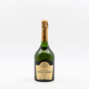 Taittinger Comtes de Champagne 1989, 1 bottle