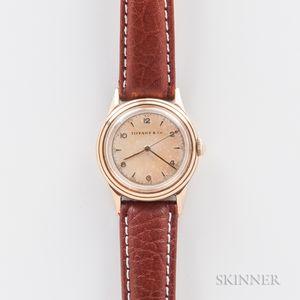 Movado 14kt Gold Wristwatch for Tiffany & Co.