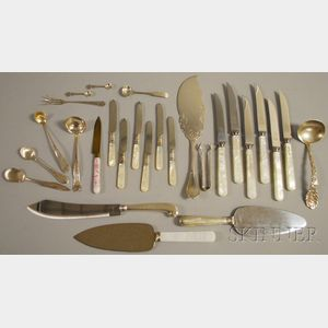 Group of Assorted Mostly Silver Flatware