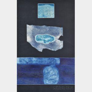 Gabor F. Peterdi (American, 1915-2001)      Arctic Night II