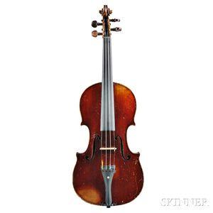 French Violin, Gand & Bernardel Fres, 1888