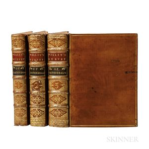 Willis, Browne (1682-1760) A Survey of the Cathedrals.