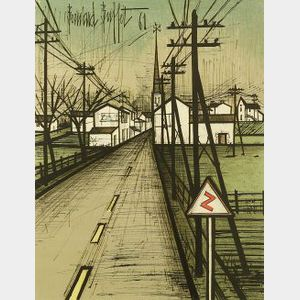 Bernard Buffet (French, 1928-1999)  The Road