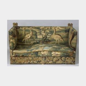 """English Baroque Style Tapestry Upholstered """"Knol1"""" Sofa"""
