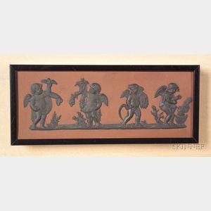 Wedgwood Rosso Antico Plaque