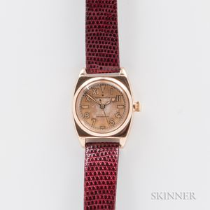 Rolex 14kt Gold 3116 Oyster Manual-wind Wristwatch