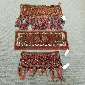 Three Turkoman Bagfaces