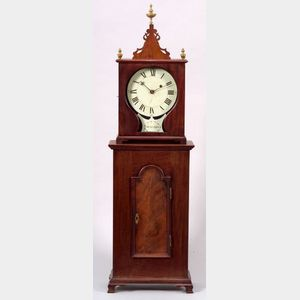 Sold for: $31,725 - Mahogany Shelf Timepiece