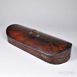 English Double Violin Case, c. 19th Century