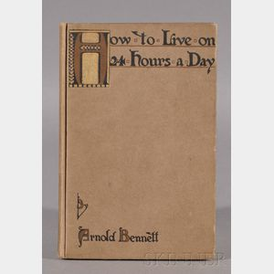 Bennett, Arnold (1867-1931), Signed copy
