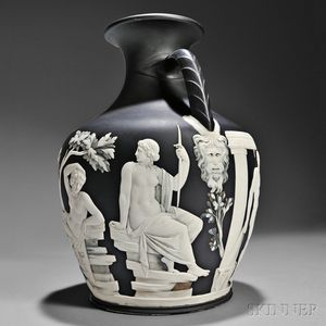 Sold for: $147,000 - Wedgwood Numbered First Edition Copy of the Portland Vase