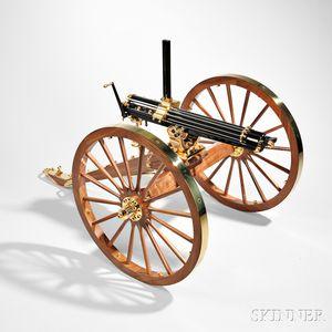 Reproduction Colt Model 1874 1/3 Scale Gatling Gun