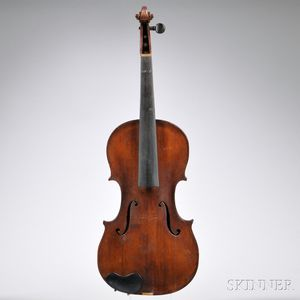 Saxon Violin, c. 1780