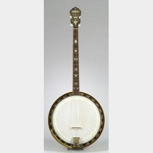 American Tenor Banjo, William L. Lange, New York, 1923, Model  D Paramount