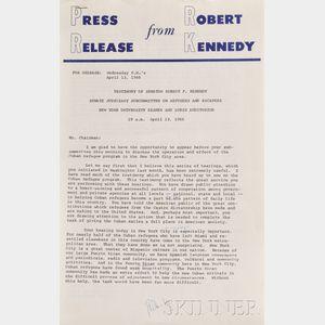 Kennedy, Robert (1925-1968)