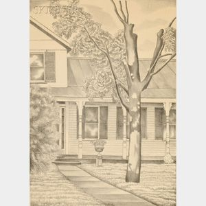 George Copeland Ault (American, 1891-1948)      Came's House