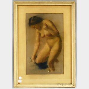 Ivan Gregorewitch Olinsky (American/Russian, 1878-1962)      Nude