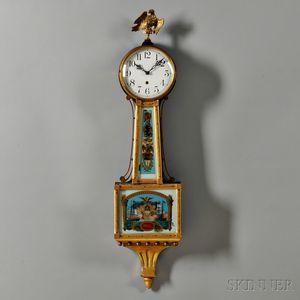 "Waterbury Willard No. 3 ""Banjo"" Clock"
