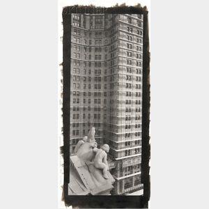 Lois Conner (American, b. 1951)      NY89429 Municipal Building, New York