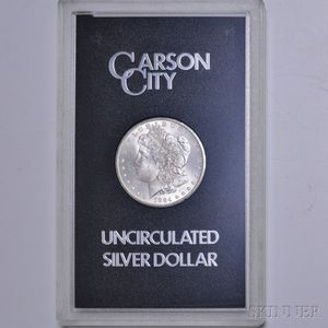 1884-CC/Carson City Morgan Dollar.