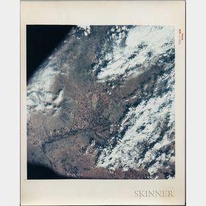 Apollo 9, Earth-Sky View, Phoenix, Arizona, March 17, 1969.