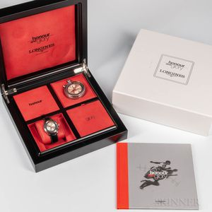 """Limited Edition Longines """"Honour and Glory"""" Full Kit Watch Set"""