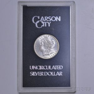 1883-CC/Carson City Morgan Dollar.