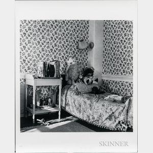 Walker Evans (American, 1903-1975)       Child's Room, Stockbridge, Massachusetts