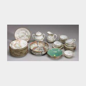 Lot of Approximately Twenty-seven Pieces of Japanese Porcelain