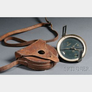 W. & L.E. Gurley 4 1/2-inch Brass Surveyor's Compass