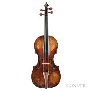 Austrian Violin, Thir Family, Vienna, c. 1750