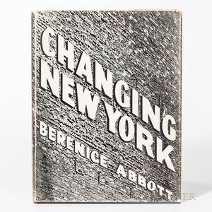 Abbott, Berenice (1898-1991) Changing New York: Photographs by Berenice Abbott.