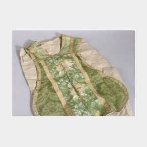 Damask and Brocade Ecclesiastic Vestment