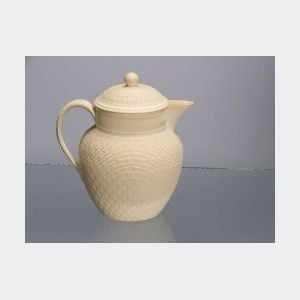 Wedgwood Cane Ware Jug and Cover