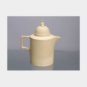 Wedgwood Cane Ware Hot Water Pot and Cover