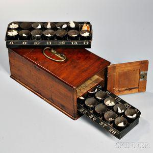 Mahogany Specimen Box