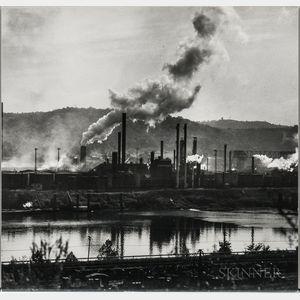 Walker Evans (American, 1903-1975)       Two Views: Koppers Plant, Pittsburgh, Pennsylvania