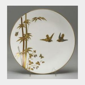 Six Mintons Bone China Plates