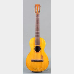 American Parlor Guitar, Attributed to L. Violh, Flushing, Connecticut, c. 1890