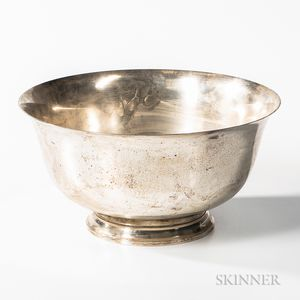 Lunt Sterling Silver Punch Bowl