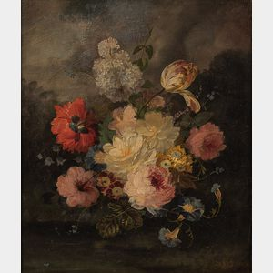 Jules Edouard Diart (French, 1840-1890)      Floral Still Life