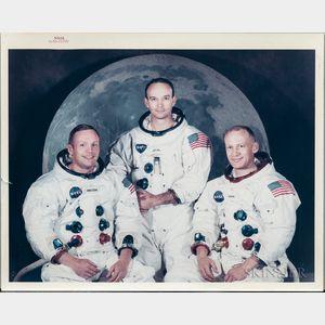 Apollo 11, Prime Crew Photograph, May 1969.
