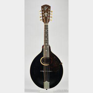 American Mandolin, Gibson Mandolin-Guitar Company, Kalamazoo,  c. 1917, Style A-4