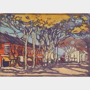 Margaret Jordan Patterson (American, 1867-1950)      Main Street