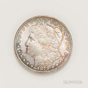 1878-CC Morgan Dollar.